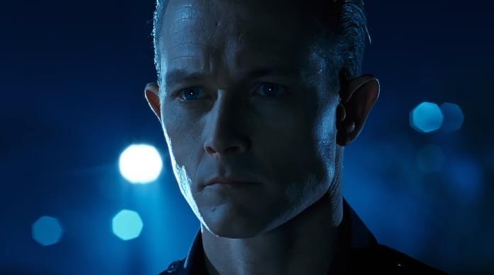 Robert Patrick in una scena del film