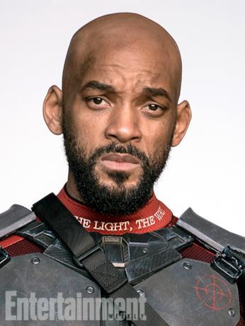 Il character poster di Deadshot (Will Smith) in Suicide Squad