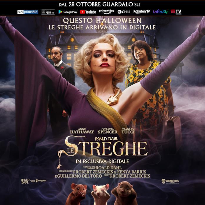 La locandina de Le Streghe
