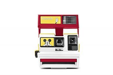 Polaroid Originals Custom 600-Fotocamera di Topolino 90th Anniversary Limited Edition (4895)