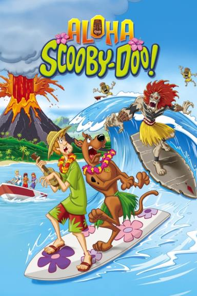 Poster Aloha, Scooby-Doo!
