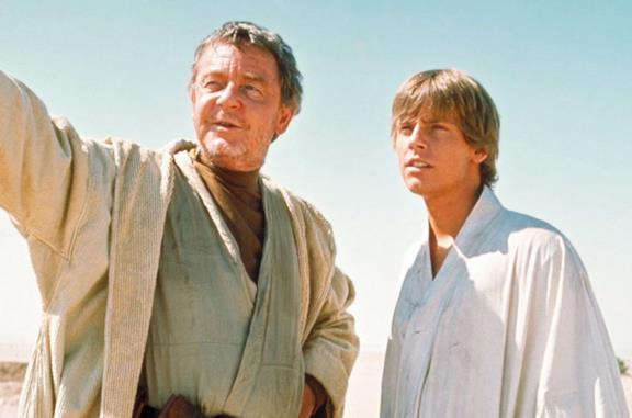 Luke Skywalker e lo zio Owen