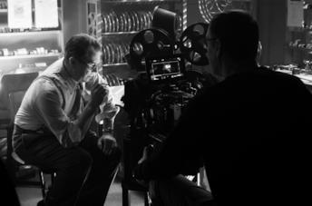 Gary Oldman sul set