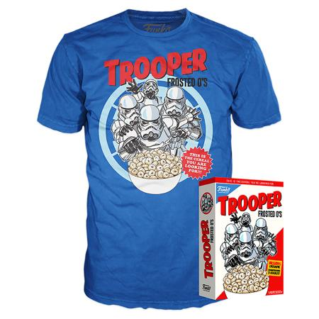 Funko Boxed Tee Star Wars - Trooper Frosted O's