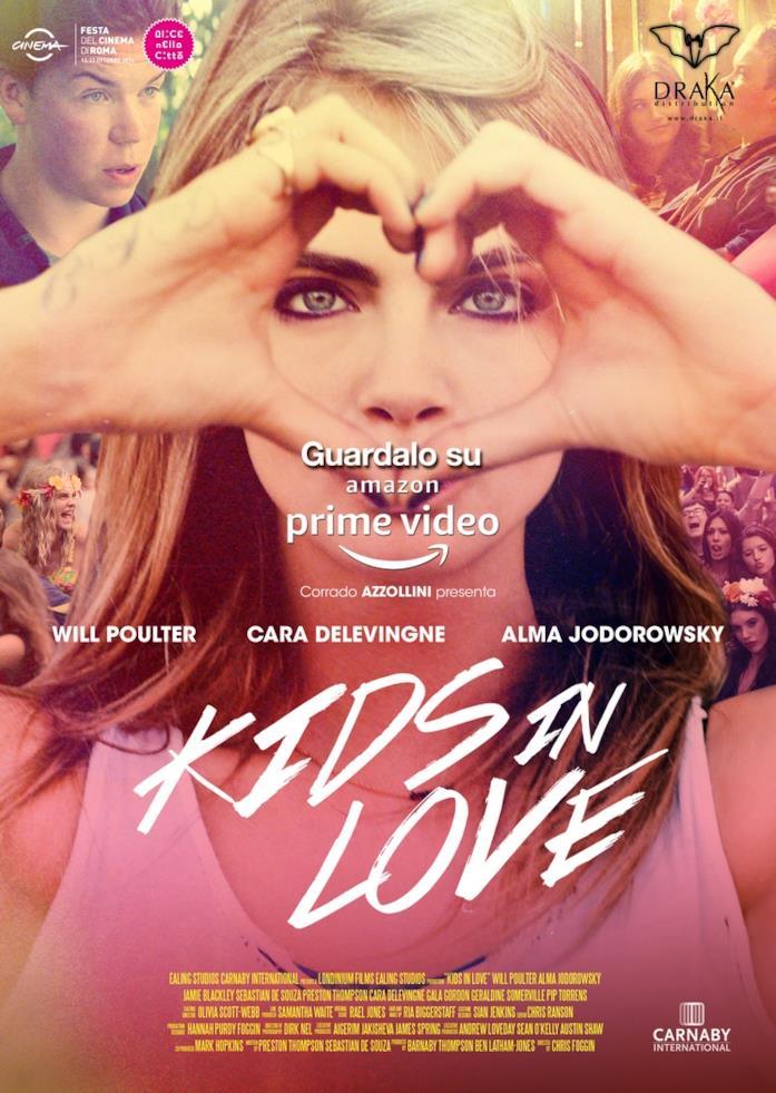 Cara Delevingne nel poster di Kids in Love