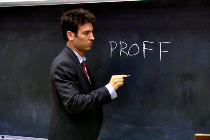 Josh Radnor nei panni di Ted Mosby in una scena della serie