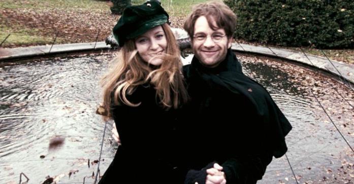 Lili e James Potter danzano insieme al parco in una foto magica