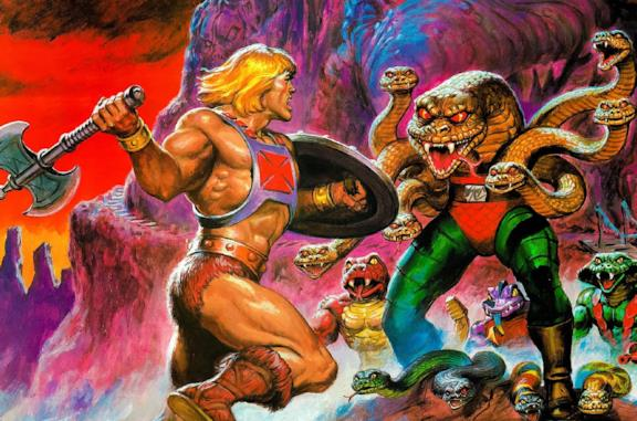 L'originale Masters of the Universe di Mattel