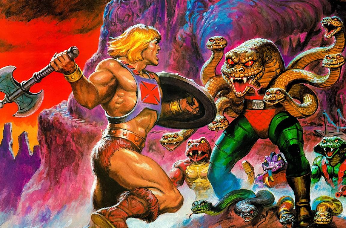 L'originale Masters of the Universe di Mattel