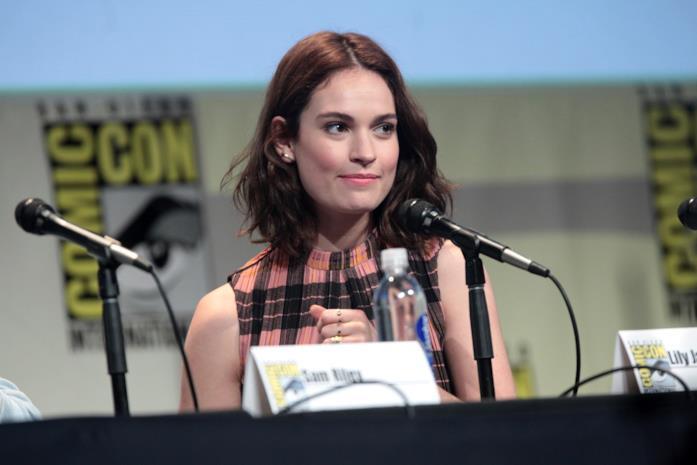 Lily James al San Diego Comic Con