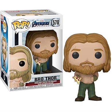 Funko- Pop Marvel: Endgame-Thor w/Can Collectible Toy, Multicolore, 45142