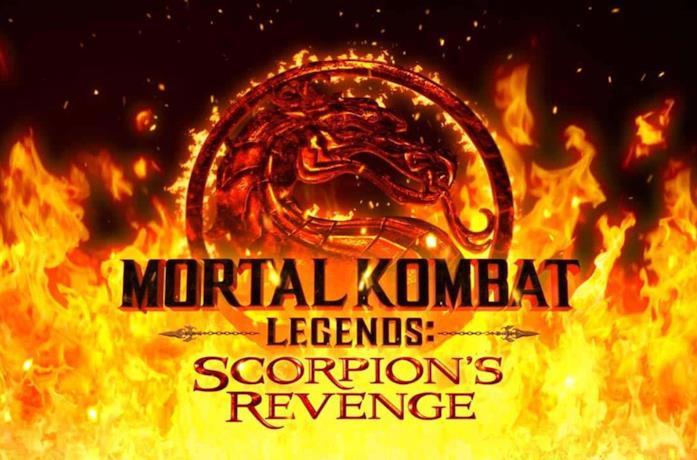 Il logo di Mortal Kombat Legends: Scorpion's Revenge