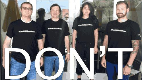 Una gif che protesta contro le morti di Sean Bean