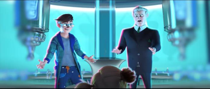 Tim e Ted si trovano all'interno di un grande laboratorio