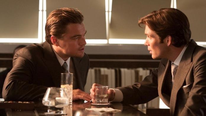 Dom Cobb e Robert Fisher sono interpretati da Leonardo DiCaprio e Cillian Murphy