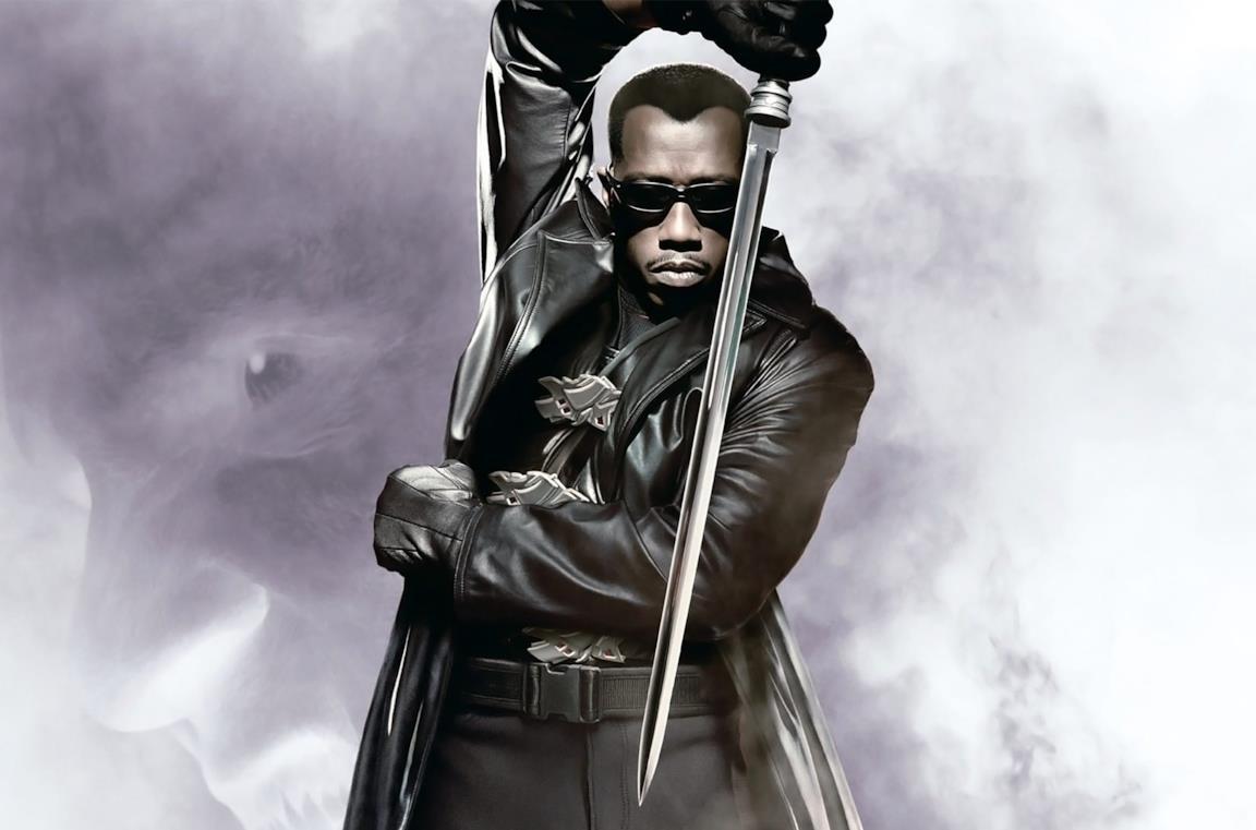 Blade in un post promozionale di Blade II