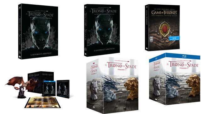 Il trono di spade - Home video DVD e Blu-ray