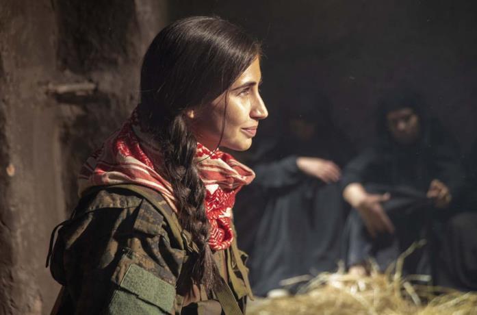Dilan Gwyn in una scena del film Red Snake