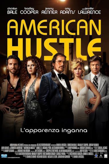 Poster American Hustle - L'apparenza inganna