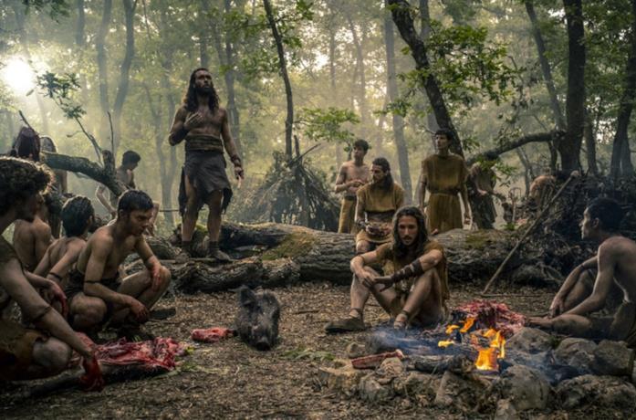 Una scena della serie TV Romulus
