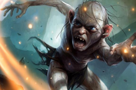 Gollum nel videogame The Lord of the Rings: Gollum