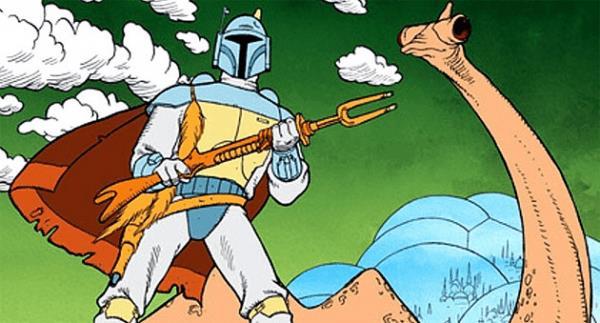Boba Fett in versione animata