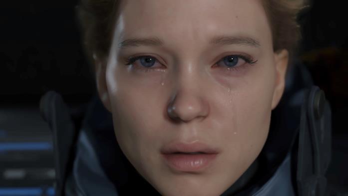 Léa Seydoux in Death Stranding