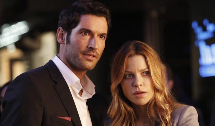 Lucifer (Tom Ellis) e Chloe (Lauren German)