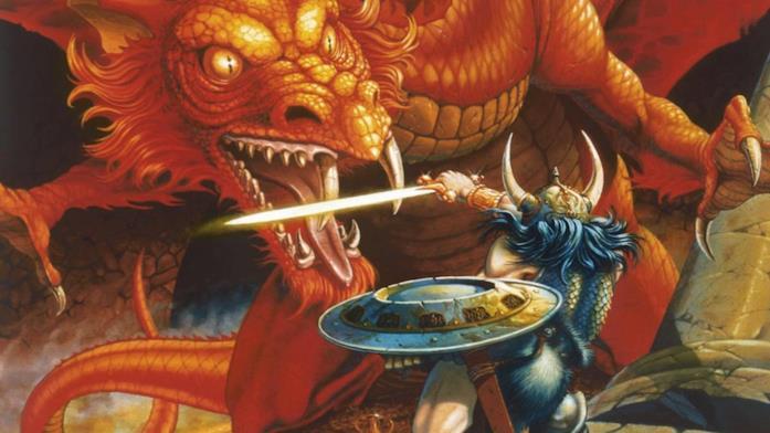 Un'immagine simbolo di Dungeons & Dragons