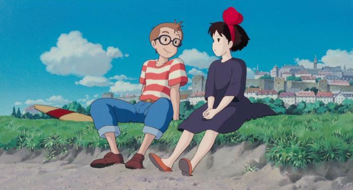 Tombo e Kiki si rilassano davanti al mare