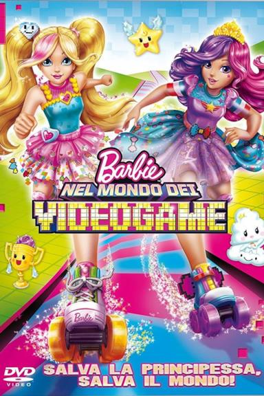 Poster Barbie nel mondo dei videogame