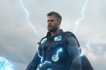 Un'immagine di Chris Hemsworth come Thor