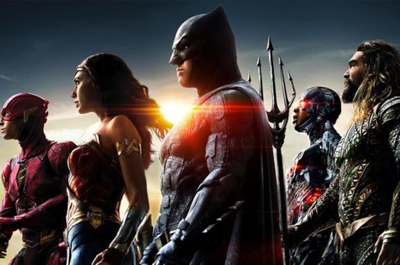 Poster di Justice League, cinecomic del 2017