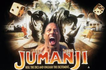 The Rock locandina Jumanji