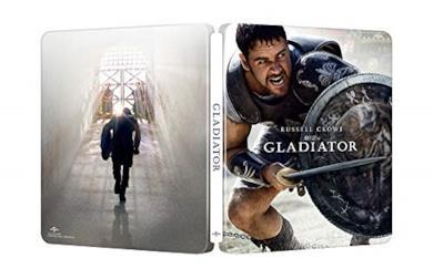 Cofanetto Blu-ray de Il Gladiatore in 4K Ultra HD