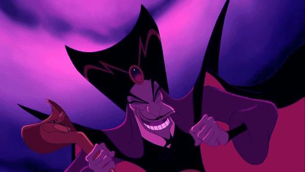 Jafar ride in modo folle