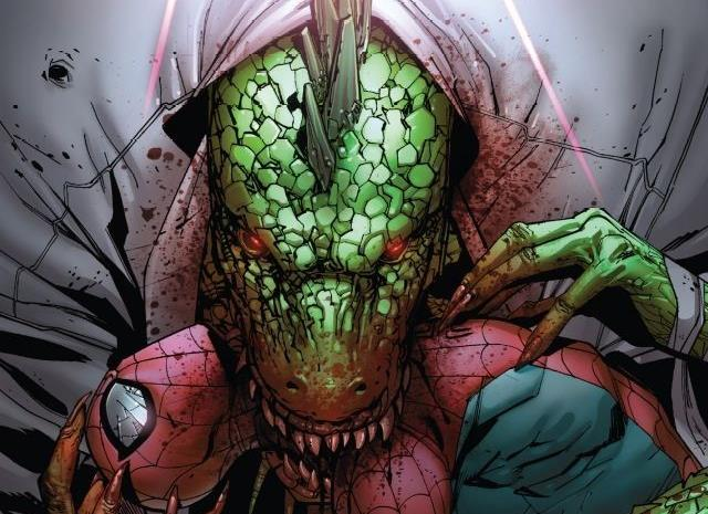 Cover di Spider-Man: Lizard - No Turning Back