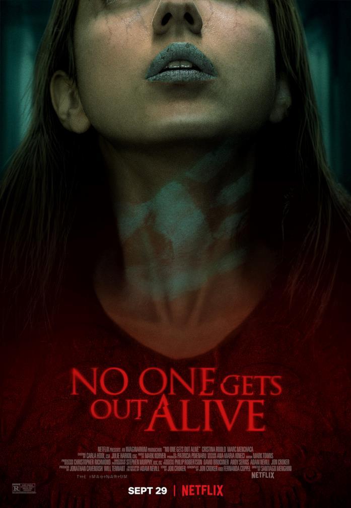 Il poster del film Netflix Nessuno ne uscirà vivo