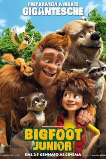 Poster Bigfoot junior