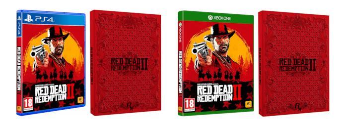 Red Dead Redemption 2 - Steelbook Edition per PS4 e Xbox One