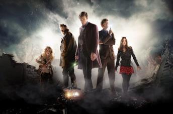 Una foto dallo speciale dei cinquant'anni di Doctor Who