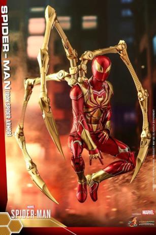 I dettagli di Iron Spider visti da vicino