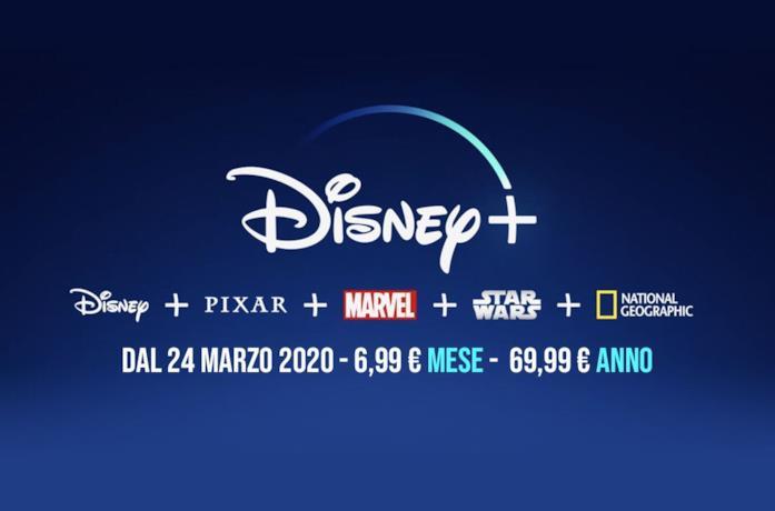 L'offerta ufficiale Disney+ per l'Italia