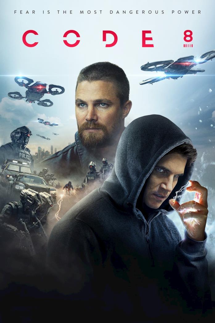 Il poster di Code 8