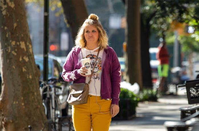 Jillian Bell nel film Brittany non si ferma più