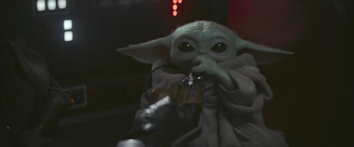 Baby Yoda, il tenero personaggio di The Mandalorian