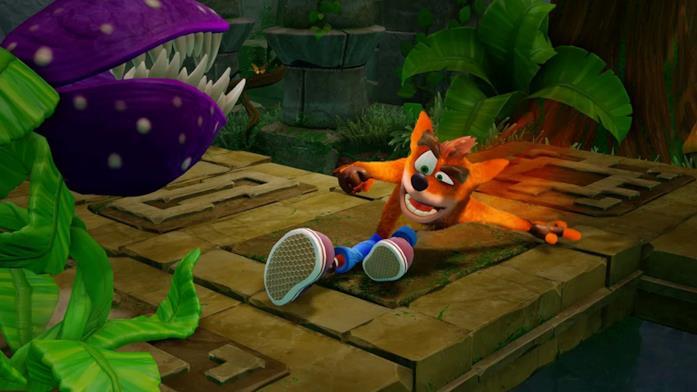 Crash Bandicoot nel suo look della N. Sane Trilogy