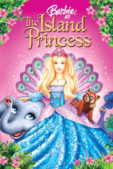 Poster Barbie principessa dell'isola perduta