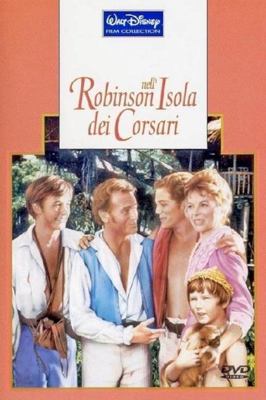 Poster Robinson nell'isola dei corsari