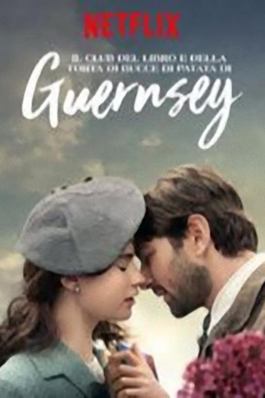 Poster Il club del libro e della torta di bucce di patata di Guernsey